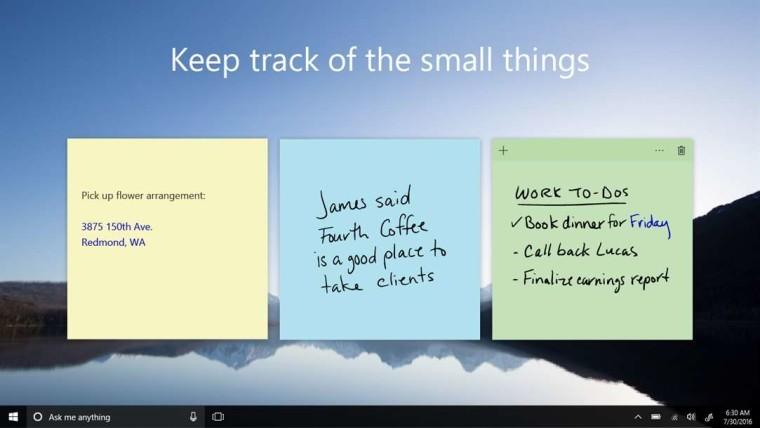 1534676509 1487221349 sticky notes ljbol story - Microsoft планирует выпустить крупное обновление для приложения «Sticky Notes»
